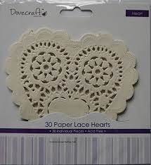 heart shaped doilies dovecraft tea party heart shaped paper lace doilies 30 pieces