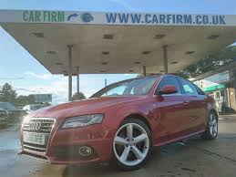 used audi a4 red for sale motors co uk