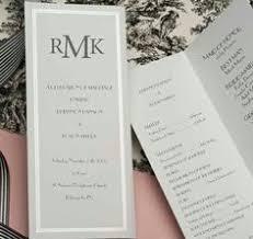 wedding program paper stock wedding programs scripted pearl shimmer trifold wedding programs