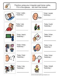 copy of regular and irregular verbs lessons tes teach