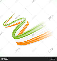 Green White Orange Flag Green White Orange Flag Vector U0026 Photo Bigstock