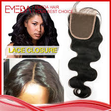 sew in with lace closure emeda hair products peruvian wave hair with closure 4 4 cheap
