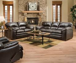 Ashley Leather Sofa And Loveseat Furniture Simmons Ottoman Simmons Bonded Leather Sofa Simmons