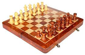 amazon com stonkraft collectible folding wooden chess game board