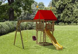 101 wooden tiny treasure swing set play mor swing sets of amish
