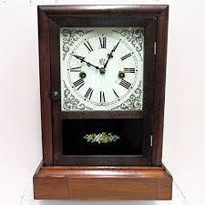 Mantel Clocks Antique Mantel Clock By Waterbury Clock Co From Drury On Ruby Lane