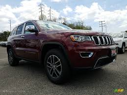 jeep grand cherokee limited 2017 red 2017 velvet red pearl jeep grand cherokee limited 4x4 120201393