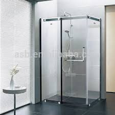 Smart Glass Shower Door Square Black Framed Smart Glass Shower Door Buy Smart Glass