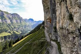 best places to visit in switzerland berggasthaus aescher