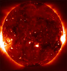 what does our sun look like from space quora
