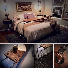 rolling table over bed netflix chill rolling over the bed table laptop lap desk