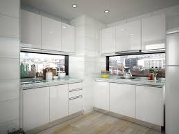 Chinese Made Kitchen Cabinets China Oppein Best Interior Design Small Hpl Kitchen Cabinets Op15