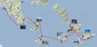 Greece Google Maps by Greece Sailingtrips