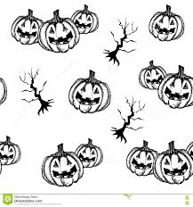 black and white halloween pumpkin clipart halloween pumpkin hand draw style stock vector image 77433677