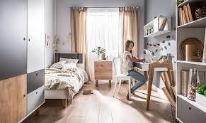 mobilier chambre design commode de rangement coloré en bois chambre enfant et ado