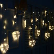 aliexpress com buy 3m 120 bulbs heart led christmas lights