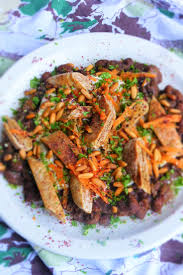 cuisine aubergine aubergine fava bean fatteh tahini yoghurt pine nuts lebanese