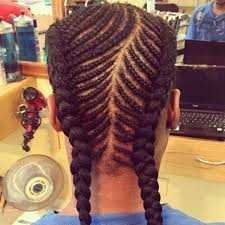 african fish style bolla hairstyle with braids braids for men simple and creative looks