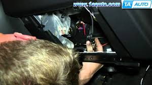 how to install replace ac heater temperature actuator 2000 05