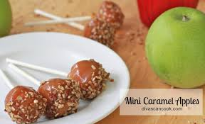 mini caramel apple bites recipes divas can cook