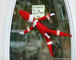 Unique Door Decoration For Christmas by 30 Fun And Unique Elf On The Shelf Ideas Daddy By Day