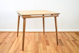 Wooden Folding Card Table Fabulous Wood Folding Card Table Mid Century Table Folding Table