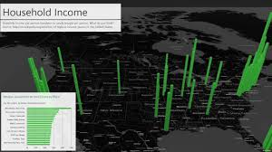 best places to trick or treat a power map for excel tour youtube