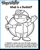 free kid u0027s dental coloring sheets activities charts