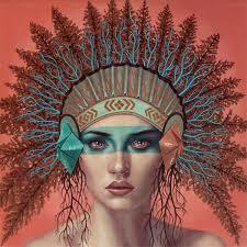 casey weldon s pop tribal headdresses plant propaganda