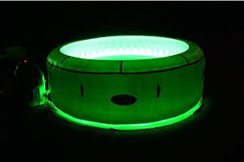 tub led lights lay z spa paris tub with led lights airjet inflatable 4 6