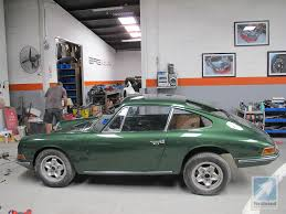 porsche 911 dark green porsche 911 restoration australia 911l down under