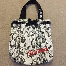 disneyland the nightmare before tote bag from