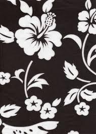 Upholstery Fabric Hawaii Ume Vintage Style Tropical Botanical Vintage Hawaiian Fabric
