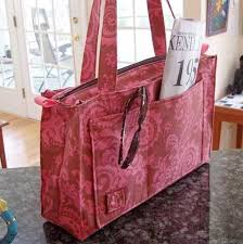 pattern for tote bag with zipper reversible or zippered tote sewing pattern love to sew