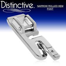 Blind Hem Presser Foot Distinctive Narrow Rolled Hem Sewing Presser Foot