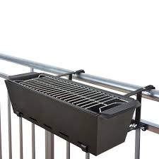 Bbq Bruce Balcony Handrail Grill In The Shop