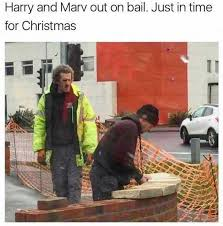 Home Alone Meme - dopl3r com memes harry and marv from home alone out on bail