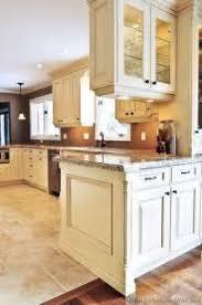 traditional antique white kitchen cabinets kitchen