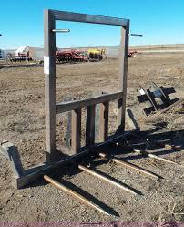 wheel loader bale spear item j8345 sold february 19 bli