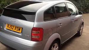 2003 52 audi a2 1 6 fsi se manual petrol 5dr hatchback for sale