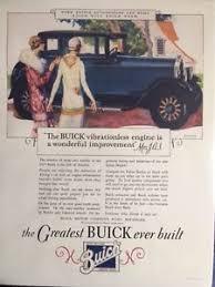 retro vintage style buick art deco car advert from 1920 u0027s art
