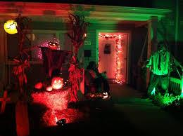 Outdoor Halloween Lights by Halloween Decorations Outdoor Scary Outdoor Halloween