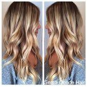 caramel lowlights in blonde hair love this color thinking about darkening my blonde with some low