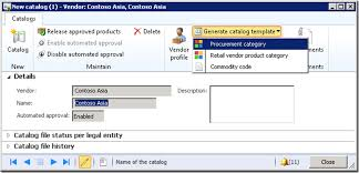 import vendor catalogs from setup to importing a sample catalog