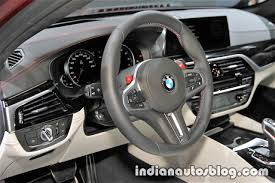 first bmw m5 2018 bmw m5 first edition dashboard at the iaa 2017 live