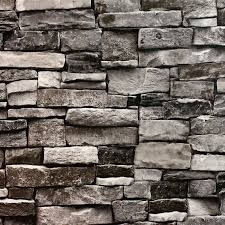 blooming wall 5705 3d faux brick stone wall mural wallpaper for