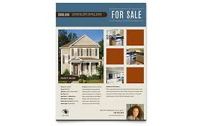 house for sale brochure template real estate flyer templates word
