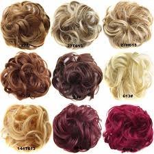 bun scrunchie hot sale on feshfen wavy hair bun donut hair