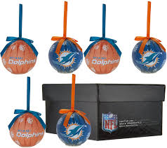 nfl set of 6 light up ornaments w gift box page 1 qvc