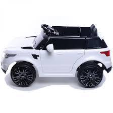 land rover white mini hse range rover style 12v child u0027s ride on jeep white